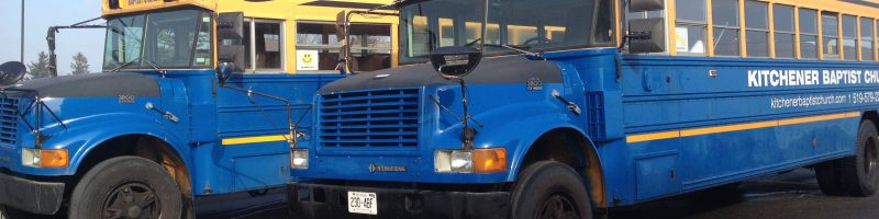 Bus Ministry at Kitchener Baptist Church